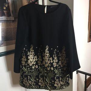 Zara Crossed Floral Dress - Size L